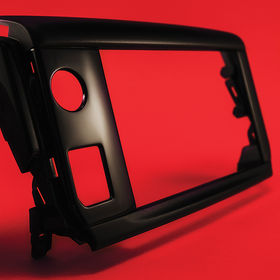 Automotive Industry - Interior Part. High Gloss and Matt Bezel.