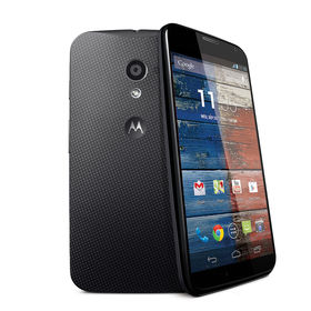 Back of Motorola phone