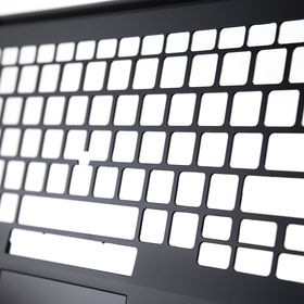 D laptop keyboard shell