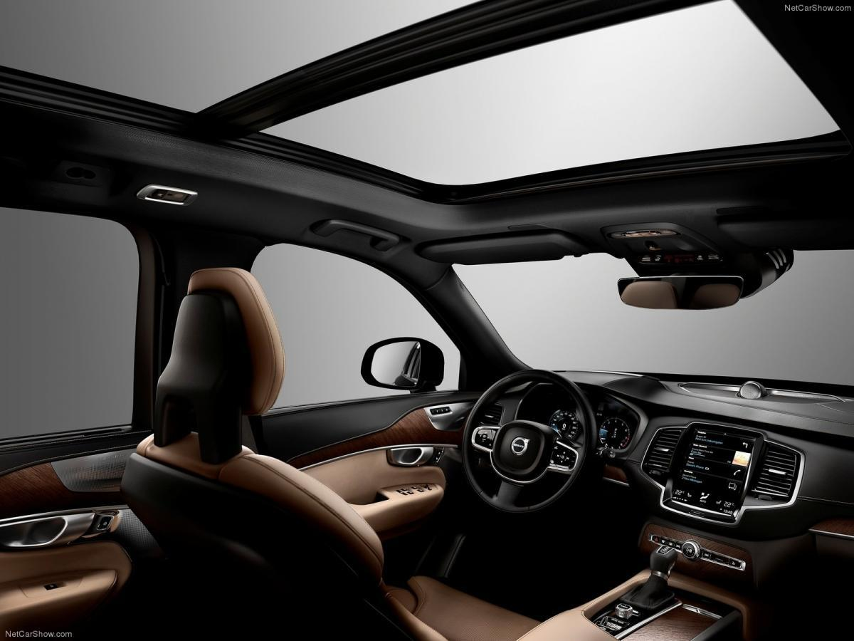 Interior of Volvo XC90