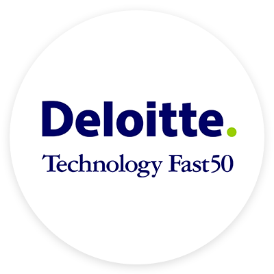 Deloitte Technology Fast50 award logo