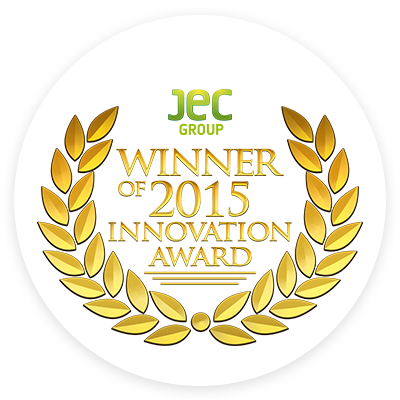 JEC Winner of 2015 Innovation Award logo