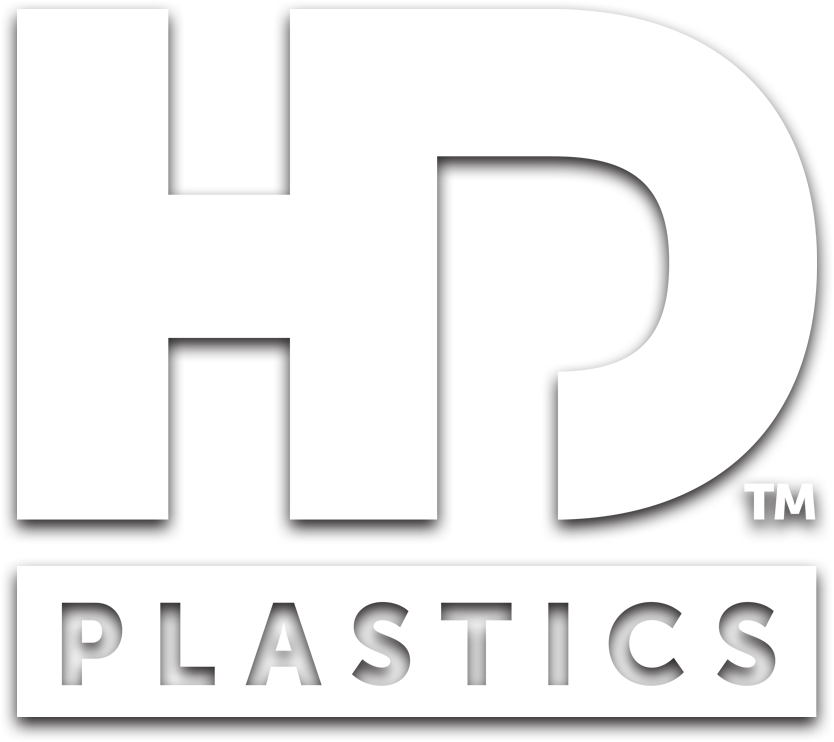 Hd Plastics Logo Shadow